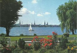Ansichtskarte - Hamburg Außenalster