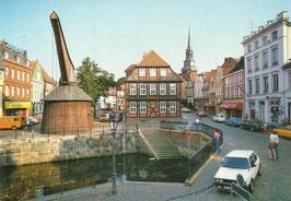 Ansichtskarte - Stade - Alter Hafen