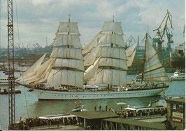 Ansichtskarte - Hamburg Hafen