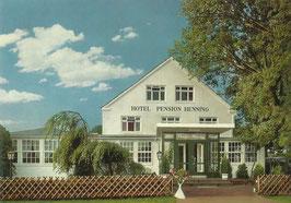 Ansichtskarte - Cuxhaven - Hotel Henning