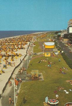 Ansichtskarte - Cuxhaven - Duhnen - Strand