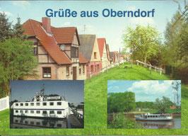 Ansichtskarte -  Oberndorf an der Oste