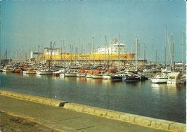 Ansichtskarte - Cuxhaven - Ro-Ro Anleger - Neuer Jachthafen