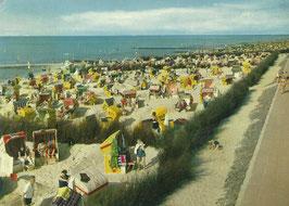 Ansichtskarte - Cuxhaven - Strand