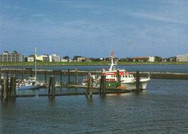 Ansichtskarte - Cuxhaven - Fährhafen