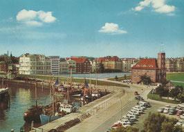 Ansichtskarte - Cuxhaven - Am Alten Hafen