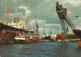 Ansichtskarte - Hamburg - Hafen