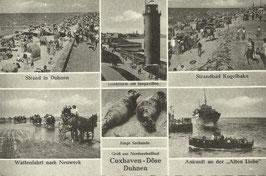 Ansichtskarte - Cuxhaven - Mehrbildkarte