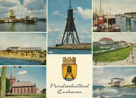 Ansichtskarte - Mehrbildkarte Cuxhaven