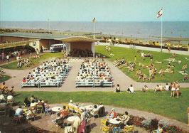 Ansichtskarte - Cuxhaven - Strandhaus Döse - Kurkonzert