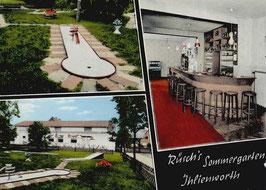 Ansichtskarte - Ihlienworth - Rüsch´s Sommergarten