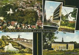Ansichtskarte - Norden - Mehrbildkarte