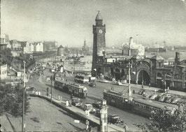 Ansichtskarte - Hamburg Landungsbrücke