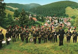 Ansichtskarte - Altes Berghornisten-Korps