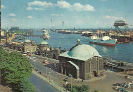Ansichtskarte - Hamburg Alter Elbtunnel