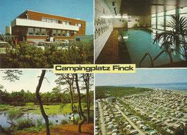 Ansichtskarte - Cuxhaven - Campingplatz Finck