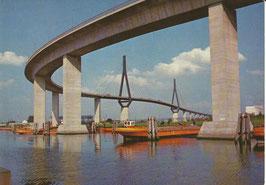 Ansichtskarte - Hamburg Köhlbrandbrücke