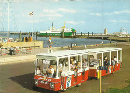 Ansichtskarte - Cuxhaven - Jan Cux Express
