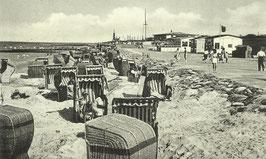 Ansichtskarte - Cuxhaven - Döse - Strand