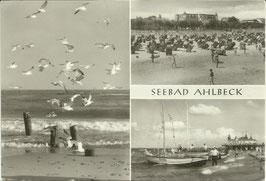Ansichtskarte - Seebad Ahlbeck