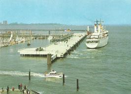 Ansichtskarte - Cuxhaven - Neue Seebäderbrücke