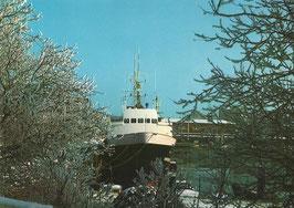 Ansichtskarte - Cuxhaven - Alter Hafen
