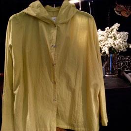 Chemise à Capuche coton Anis