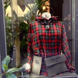 Chemise à Capuche Ecossais R&V
