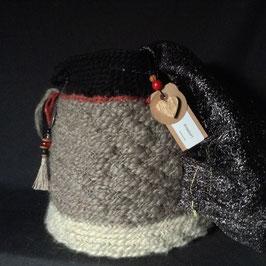 Sac Seau Grège pure laine