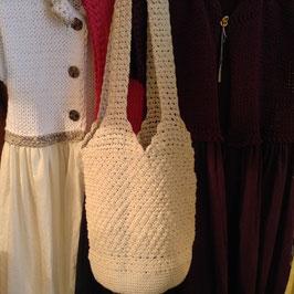 La Grande Besace Coton écru