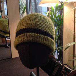 Bonnet rond Vert Laitue