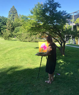 Art therapy & Emotion Painting (Summer Session)