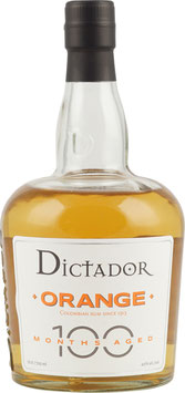 Dictador 100 Months Orange 0,7 Liter 40 % Vol.