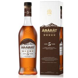 Ararat - 5 YO Brandy 0,5 Liter