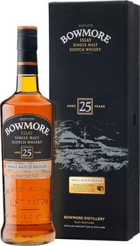 Bowmore 25 YO 0,7l 43%