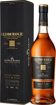 Glenmorangie Quinta Ruban 12 år Single Highland Malt Whisky 46%