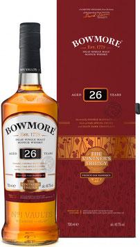Bowmore 26 YO Wine Barrique 0,7 Liter 48,7 % Vol.
