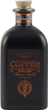 Copperhead Black Batch London Dry Gin 0,5 Liter 42 % Vol.