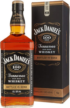 JACK DANIEL'S BOTTLED IN BOND 1,0L (50% VOL.) MED GAVEÆSKE