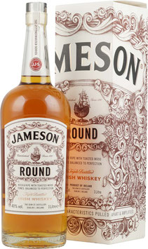 JAMESON ROUND THE DECONSTRUCTED SERIES IRISH WHISKEY 1L