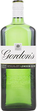 GORDON'S SPECIAL DRY LONDON GIN GREEN BOTTLE 1,0 L (37,5% VOL.)