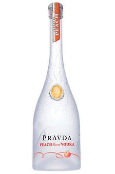 Pravda Peach Vodka
