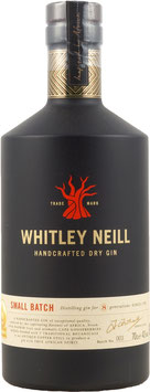 WHITLEY NEILL SMALL BATCH HANDCRAFTED DRY GIN 43%