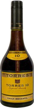 Torres Gran Reserva 10 yo 1,0 liter 38%