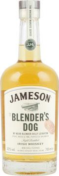 JAMESON BLENDERS DOG BLENDED IRISH WHISKEY 43%