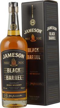 Jameson Black Barrel 0,7 Liter 40 % Vol.