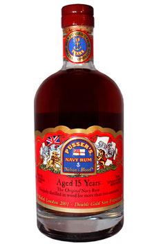 Pussers British Navy Rum 15 yo 40% 0,7l