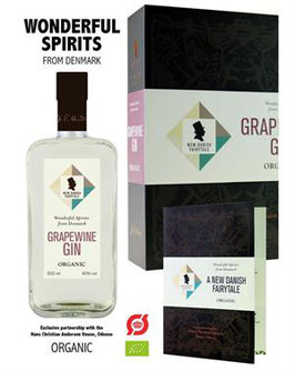 New Danish Fairytale Organic Grapewine Gin