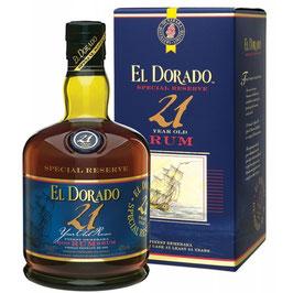 El Dorado 21 år Rom