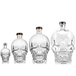 Crystal Head Vodka Set XL (0,05L + 0,7L + 1,75L + 3,0L) (40% Vol.)